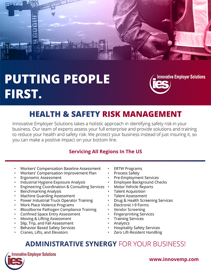 Innovative Employer Solutions Construction Health Safety Services