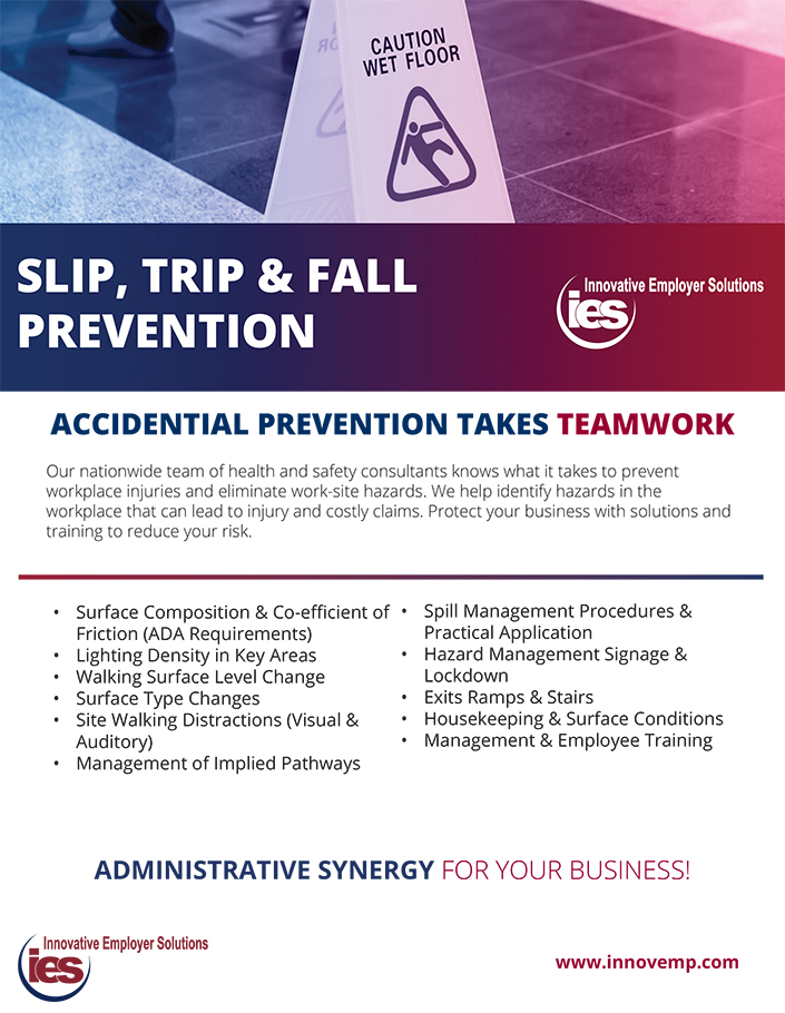 Innovative Employer Solutions Slip and Fall