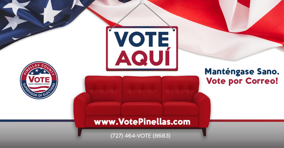 Pinellas County Supervisor of Elections - Stay Safe, Vote By Mail